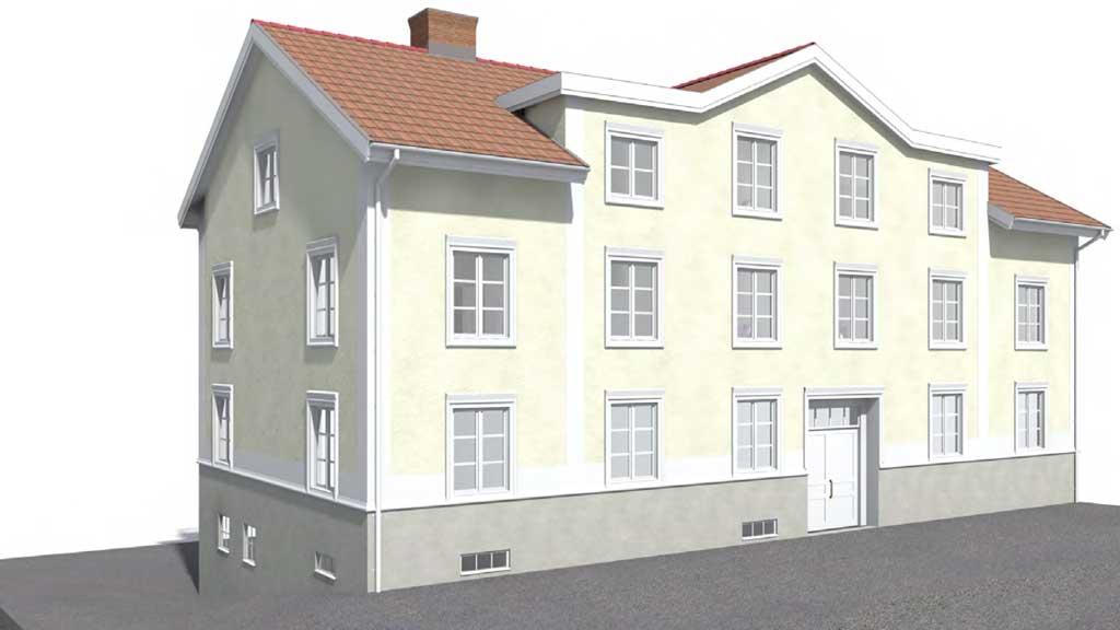"""Elva nya lägenheter i gamla """"taxihuset"""""""