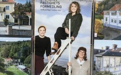 Vi bygger om till Svensk Fastighetsförmedling
