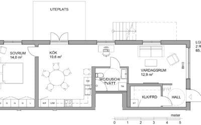 Nyproduktion lägenhet 2 rok på Gröna gatan 62, Jönköping